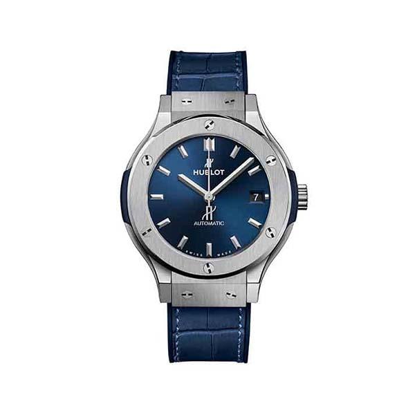 CLASSIC FUSION TITANIUM BLUE 33MM 581.NX.7170.LR GUINOT