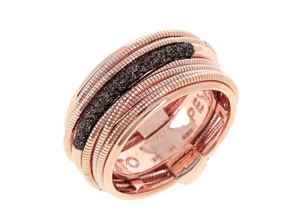 anillo pesavento plata joyeria carlos guinot WDNAA105